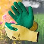 3 x Guanti da Giardinaggio Garden Eden EN 388 | Guanti per Piantare e Lavorare con la Terra in Giardino | Adatto anche come Guanti per Roseti o Aiu...