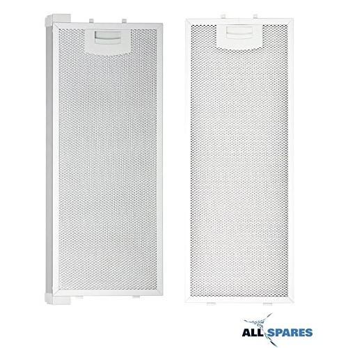 Filtro per grasso/filtro metallico per Bosch/Siemens/Neff/Balay, per diverse cappe e cucine, 352813 (445 x 175 mm) e 352812 (420 x 175 mm)