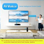 AOLVO Smart IR Smart IR, Telecomando Universale Harmony Hub, IR all in One automazione apprendimento Telecomando Universale Compatibile con Google ...