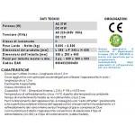 Ardes TK45A Mini Frigo Ellettrico Portabile 17 Litri Con Cavo Per Casa E Cavo Con Spina Accendisigari Per Auto, Argento