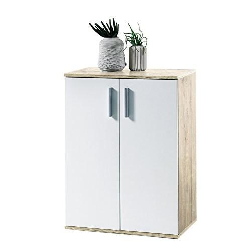 Avanti Trendstore, Bea, Mobile Con 2 Ante, Bianco, 60 x 25 x 83 cm