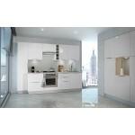 Berlenus - Armadietto da Cucina, sottolavabo, Altro, Bianco Brillante, 80 x 52
