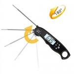 BizoeRade Impermeabile termometro per carne, Termometro da cucina termometro carne, grill, immediata Leggi cottura termometro digitale con schermo ...