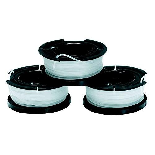BLACK+DECKER A6485-XJ Set 3 Rocchetti Filo Nylon Reflex, per Tagliabordi