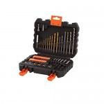 BLACK+DECKER A7188-XJ Set per Forare ed Avvitare, 50 Pezzi