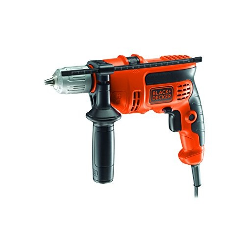 BLACK+DECKER CD714CRES-QS Trapano a Percussione, 710 W