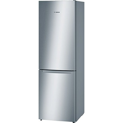 Bosch KGN36NL30 Freestanding 214L 86L Stainless steel fridge-freezer - fridge-freezers (freestanding, Bottom-placed, A++, Stainless steel, SN-T, LED)