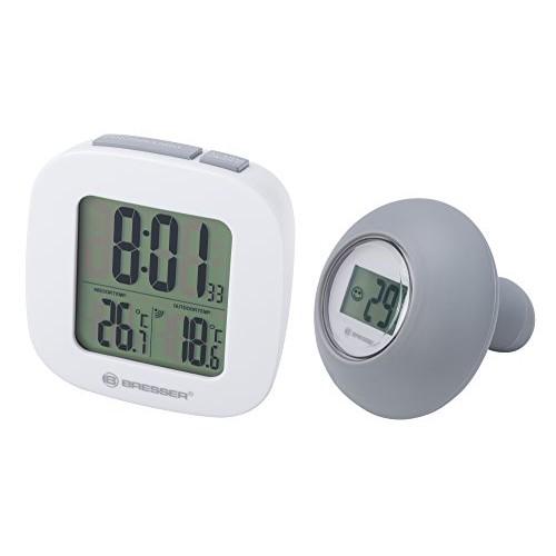 Bresser, Termometro da bagno con silicone e sensore dell'acqua