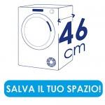 Candy CS4 H7A1DE-S Asciugatrice Slim, 7 kg, Bianco