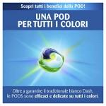 Dash Detersivo Lavatrice in Monodosi Salva Colore -  Maxi Formato da 117 Lavaggi - 3x39 Capsule