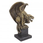 Design Toscano CL55662 Abbadon Statua del Gargoyle, Allora
