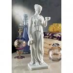 Design Toscano Statua in marmo-resina sintetico Ebe, la dea della giovinezza: