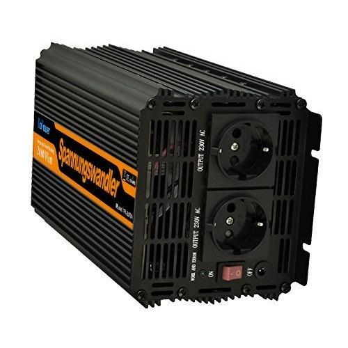 EDECOA Power Inverter Onda Modificata 2000w 4000w Trasformatore di Tensione Convertitore DC 24v in AC 220v AC 230v AC 240v Invertitore di Potenza