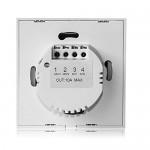 Interruttore per applique da parete portatile Domotica Modalità di funzionamento Interruttore della luce del telecomando intelligente senza fili se...