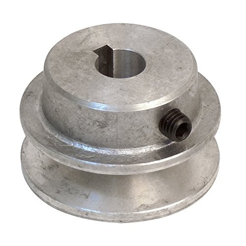 Fartools 117220 - Puleggia in alluminio, diametro 50 mm, alesaggio 14 mm
