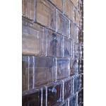 1 pezzo Crystal Collection mattoni in vetro lucido 20x10x5 cm