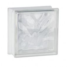 10mattoni di vetro trasparente, design nuvola, 19x 19x 8cm
