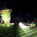 Lampade Solari a led da Esterno 300 LM,Illuminazione Giardino solare,6 led Luci Solari da Esterno Angolo Regolabile,Impermeabile IP65,Due Modalità,...