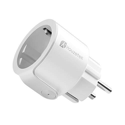 Presa Intelligente, Houzetek Smart Wifi Plug con supporto APP Alexa / Google Home, Wifi programmabile Plug IFTTT Telecomando per voce, Smart Home P...