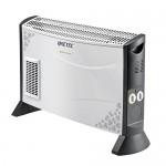 Imetec Eco Rapid TH1-100 Stufa Elettrica 2000 W con Tecnologia a Basso Consumo Energetico, Termoconvettore 4 Temperature, Termostato Ambiente, Sile...