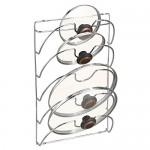 InterDesign Classico Organizzatore Mobile Cucina, Metallo, Argento, 27.4x9.6993x42.5 cm