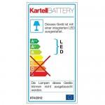 Kartell Battery Lampada da Tavolo, Cristallo