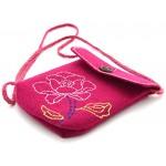 Kleiber - Kit fai da te per borsa piccola in feltro con rosa, rosa