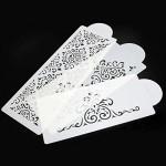 6pcs Stencil per la Decorazione di Torte,Elegante Fiori Torta,Stencil decora attrezzo,Wedding Cake Chocolate Sugar Setaccio Decor Ornate Tools, Sta...