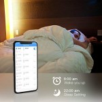 Koogeek Led Smart Wifi Strip 2m Dimmerabile luce 1600 colori Compatibile con Alexa Echo Google Assistant e Apple Homekit IP65 Telecomando impermeab...