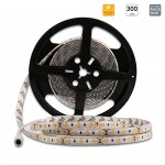 LEDMO Striscia LED bianco caldo 3000K,strice led SMD5630-300led,led strip 5 metri DC12V IP65 impermeabile 25LM/LED, 2 volte la luminosità di SMD505...