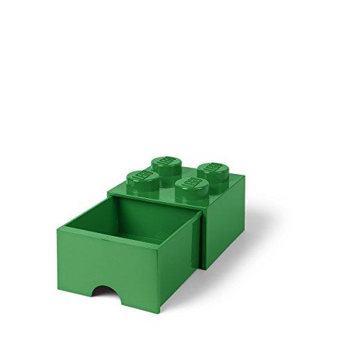 Lego l4005g.00Storage Brick 4con cassetti verde