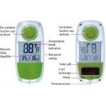 Lifemax 1230 - Termometro da finestra, a energia solare