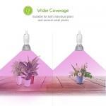 LONGKO E27 30W Grow Led Luci per piante Crescita LED Lampada da Coltivazione Indoor Idroponica coltiva luci impianto per pianti Frutta Verdure Fior...