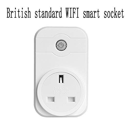 Ludage Presa intelligente Presa interruttore WIFI multi-funzione spina standard britannica