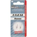 Mag-Lite LM2A001 2 Lampadine Minimag per 2-Cell AA e AAA