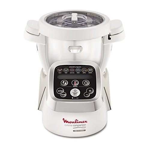 Moulinex HF802AA1 Cuisine Companion Robot da Cucina Multifunzione con 6 Programmi Automatici