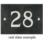 Ardesia numero civico - 1 su 99 (selezionare il numero qui) - Numeri 31