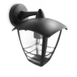 Philips Creek Lampada da Parete per Esterno, Lanterna Down, Alluminio Nero