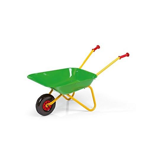 Rolly Toys 271900 Metallo Carriola, Giallo/Verde