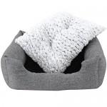 SONGMICS Cuccia cuscini per cani Divano Letto per Cane gatto M Dimensioni esterne: 80 × 60 cm PGW26G