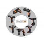 Trapano ad Impulsi 710W Tacklife PID01A Trapano Battente 5.8A Velocità Variabile 2800 RPM/m, Mandrino da 0-13mm, Manopola Girevole 360° per Forare ...