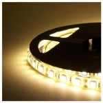 takestop® Striscia Bobina LED 5M Strip 300 LED SMD 5050 72W Bianco Caldo AD Alta LUMINOSITA CASA