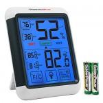 ThermoPro TP55 Termometro Igrometro Digitale da Interno, Misuratore di Umidità e Temperatura Ambiente / Termoigrometro Professionale con Display LC...