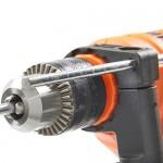 VonHaus Trapano ad Impulsi 810 W, con cavo a velocità variabile con set da 13 punte da trapano + misuratore della profondità in acciaio inox