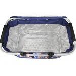 Borsa termica 32L Borsa per il pranzo pieghevole cestino da picnic oxford borsa termica Outdoor frigorifero cestino con alluminio ramen per conserv...